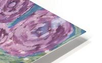 Purple flowers HD Metal print