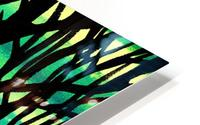 Abstract Spring Forest HD Metal print