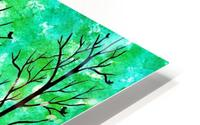 Spring Forest HD Metal print
