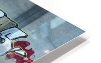 Reflet sous un pont - Reflection under a bridge HD Metal print