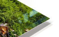 Snapshot in Time Hallstatt in the Upper Austria Alps 1 of 3 HD Metal print
