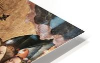Christ Blessing, central panel from a triptych from the Church of Santa Maria la Real, Najera HD Metal print