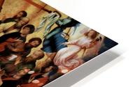 The Last Judgment, triptych, central panel HD Metal print
