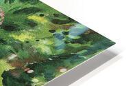 Path in the garden by August Macke HD Metal print