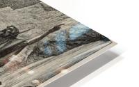 Moses strikes the rock HD Metal print
