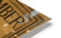 Invest HD Metal print