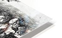 Bacchanal in Silene HD Metal print