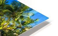 Amazing beach in Maldives, summer travel HD Metal print