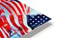 All American HD Metal print
