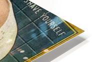 Gillette Safety Razor HD Metal print