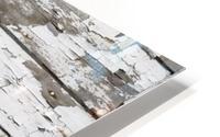 Paint Peeling Off Wood HD Metal print