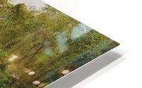 View of a forest in Jamaica HD Metal print