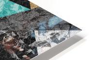 Marble Geometric Background G430 HD Metal print