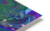 Digital Butterfly Rainbow 1 HD Metal print
