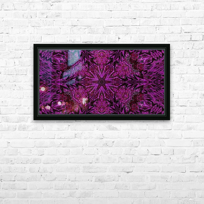 Pink Carnation HD Sublimation Metal print with Decorating Float Frame (BOX)
