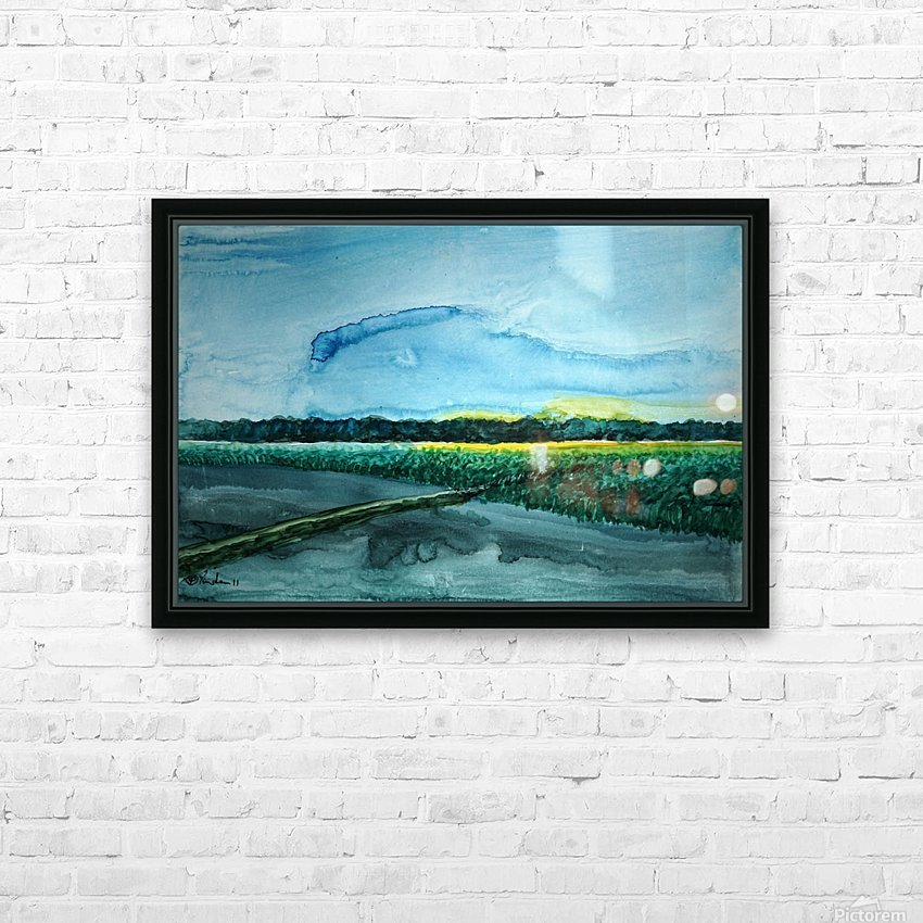 The flieds 1 HD Sublimation Metal print with Decorating Float Frame (BOX)