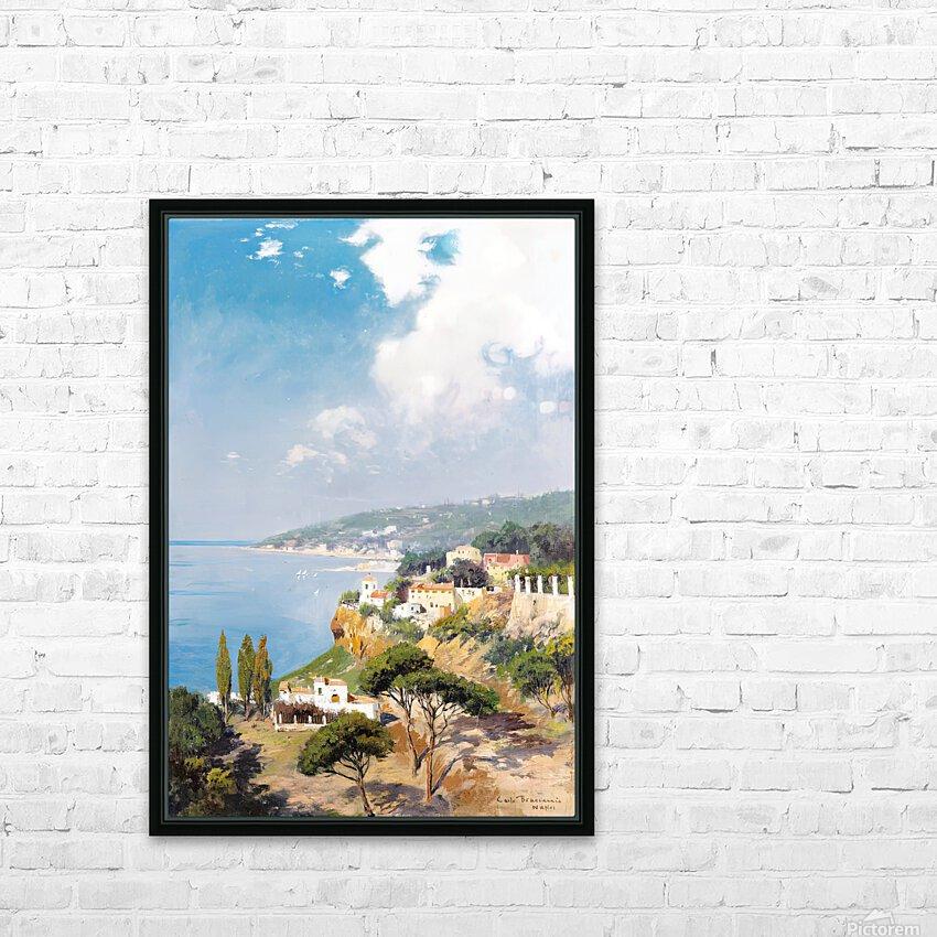 Sunny day on Naples Bay HD sublimation métal imprimé avec décoration flotteur cadre (boîte)