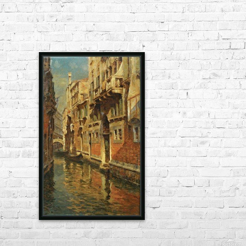 Shining morning in Venice HD sublimation métal imprimé avec décoration flotteur cadre (boîte)