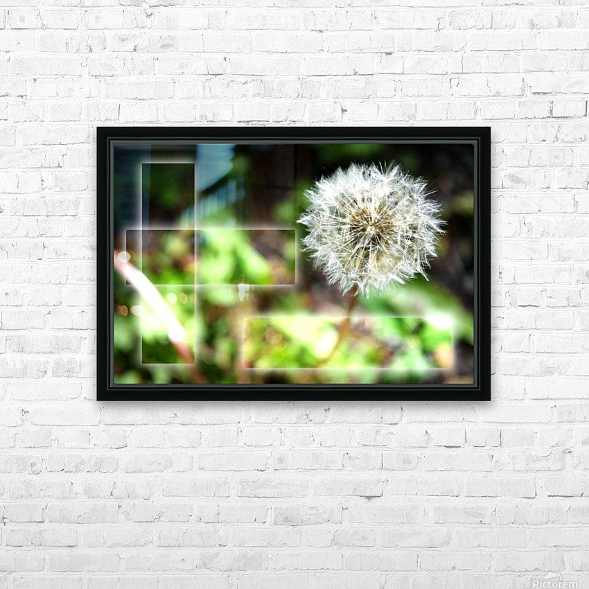 Fragile et résistante HD Sublimation Metal print with Decorating Float Frame (BOX)