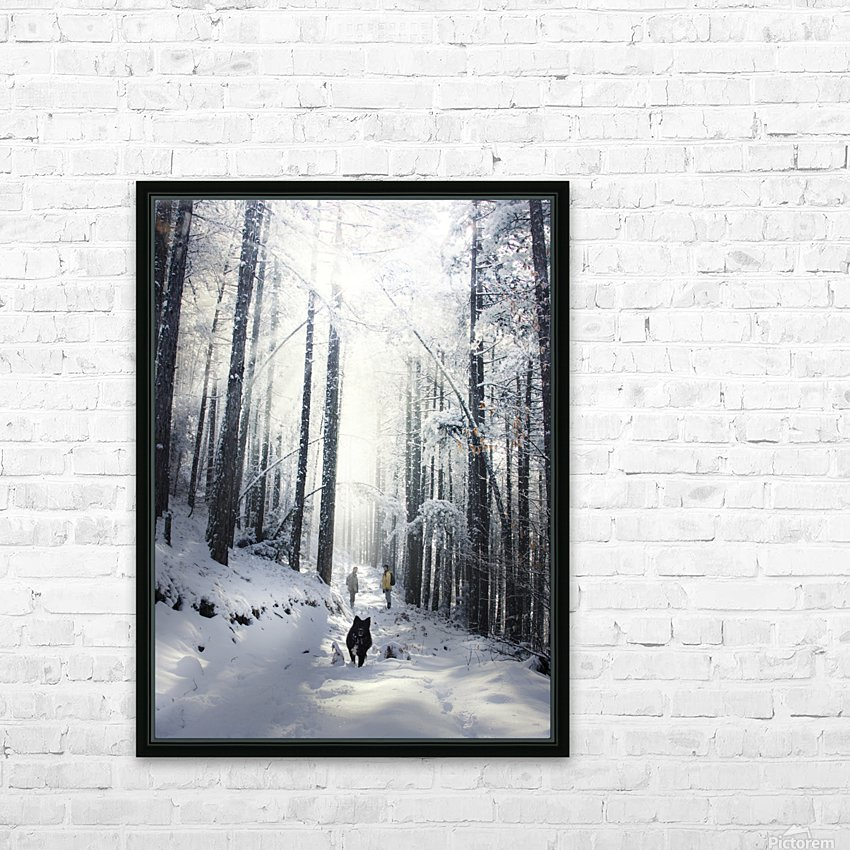 Explore nature HD Sublimation Metal print with Decorating Float Frame (BOX)