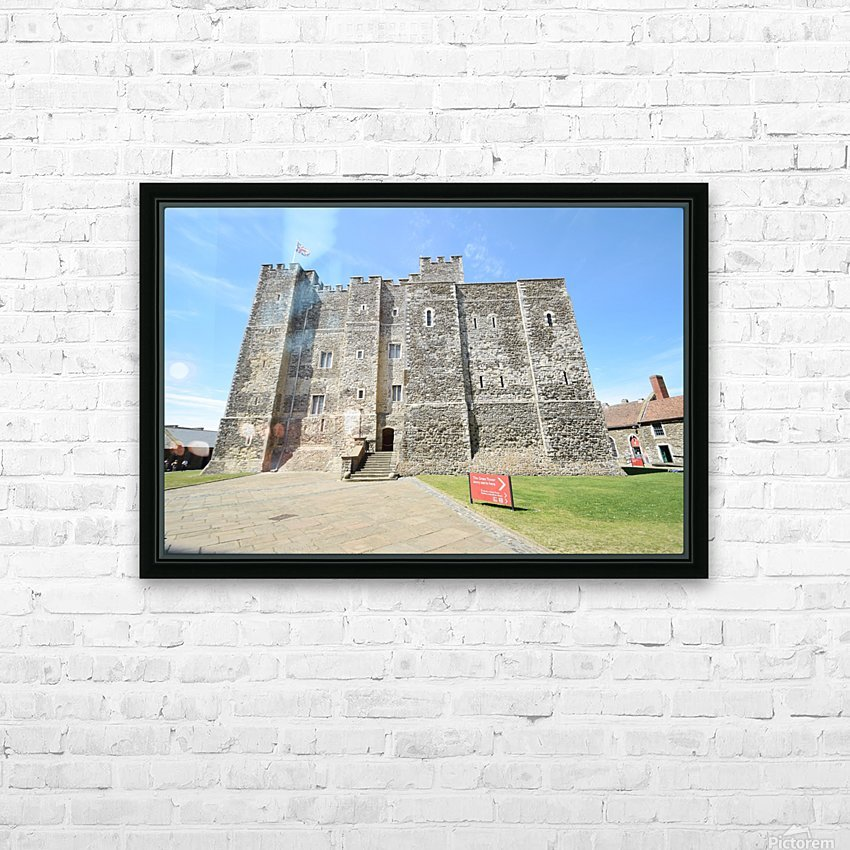 DOVER CASTLE, UK HD Sublimation Metal print with Decorating Float Frame (BOX)