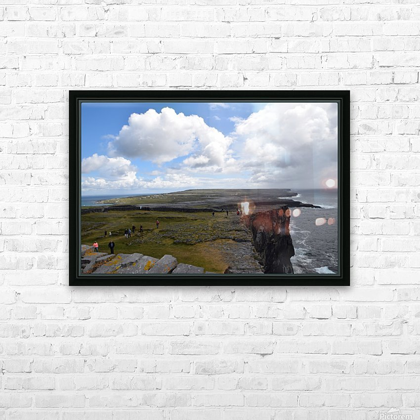 INIS MOR, THE ARAN ISLANDS HD Sublimation Metal print with Decorating Float Frame (BOX)