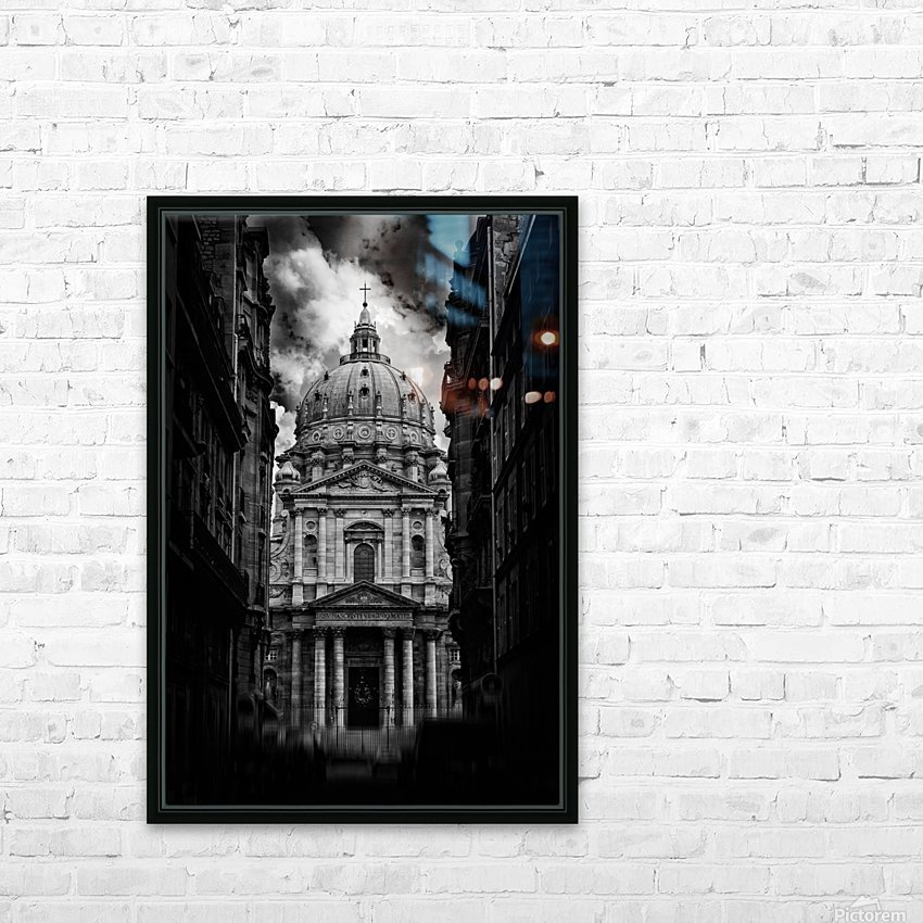 PARIS or ROMA  HD Sublimation Metal print with Decorating Float Frame (BOX)