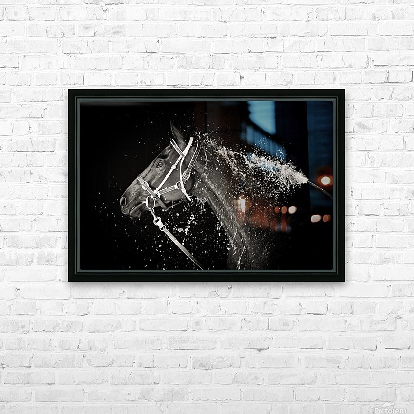 The Hose Down HD Sublimation Metal print with Decorating Float Frame (BOX)