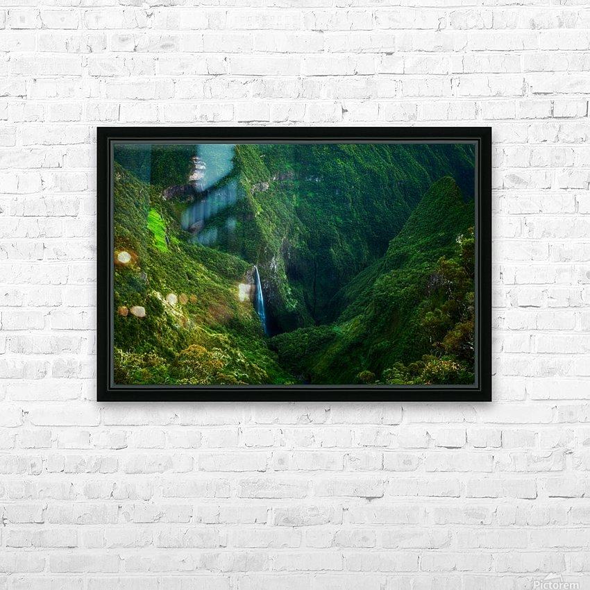 Trou de Fer HD Sublimation Metal print with Decorating Float Frame (BOX)