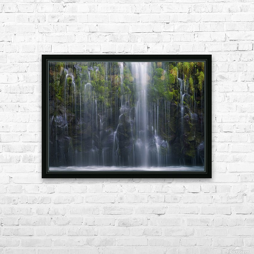 Magical retreat HD Sublimation Metal print with Decorating Float Frame (BOX)