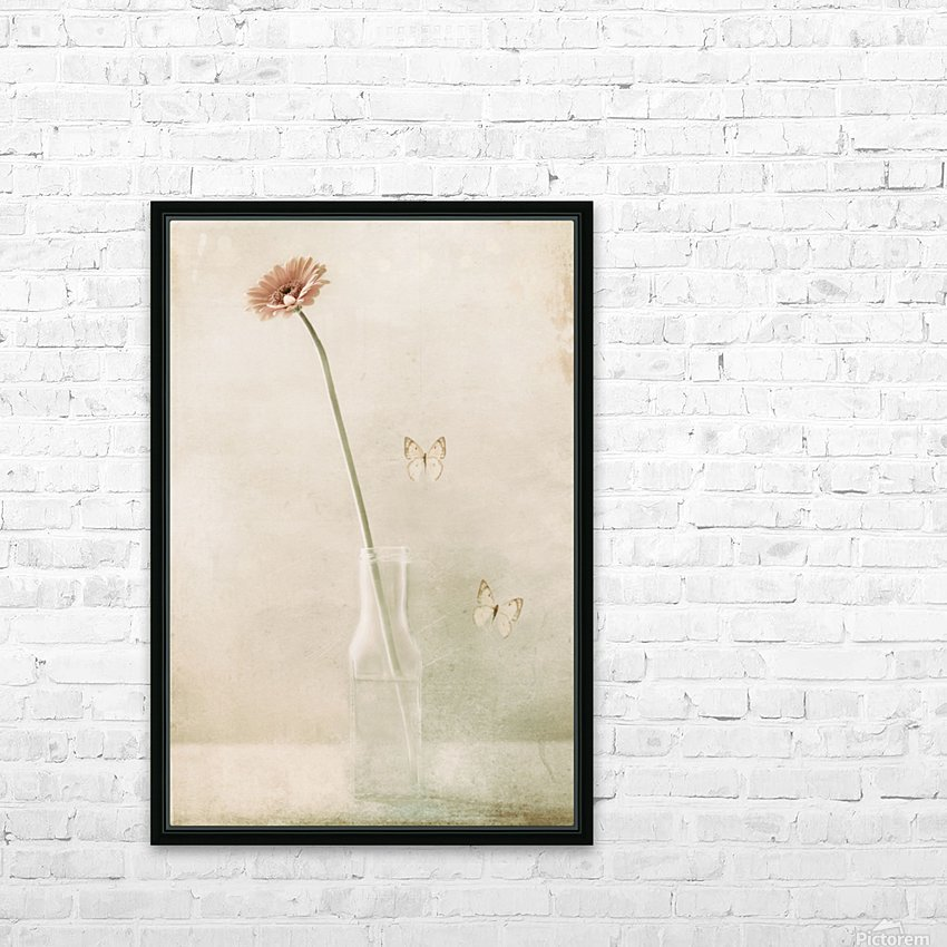 Miss Daisy HD Sublimation Metal print with Decorating Float Frame (BOX)