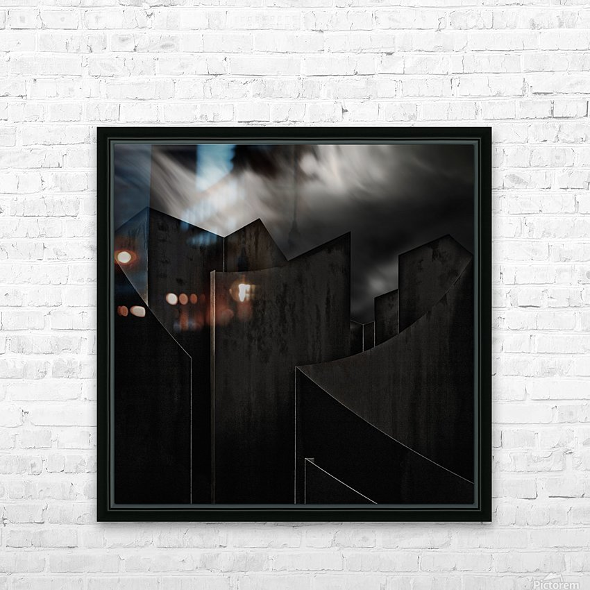 perdidi HD Sublimation Metal print with Decorating Float Frame (BOX)