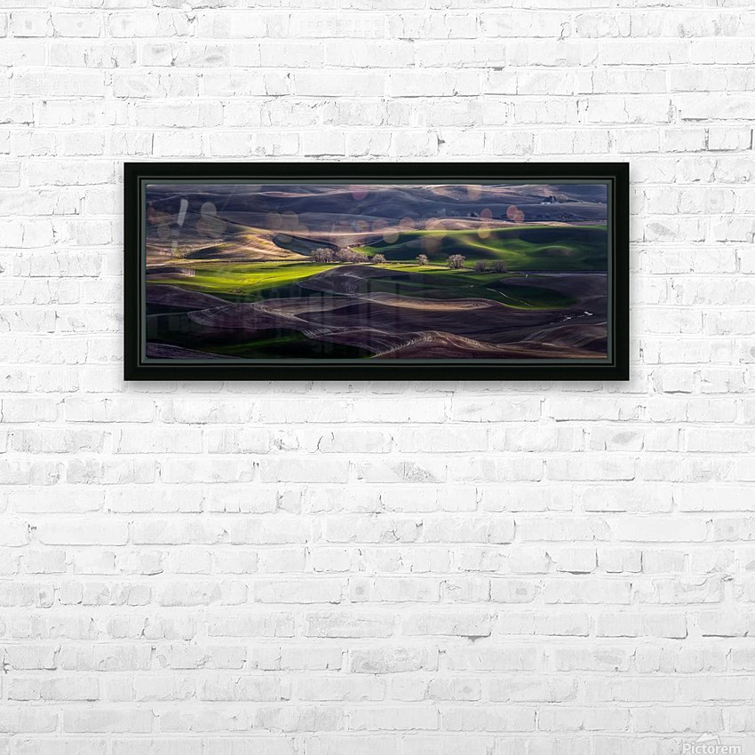 Last Light Of The Day HD Sublimation Metal print with Decorating Float Frame (BOX)