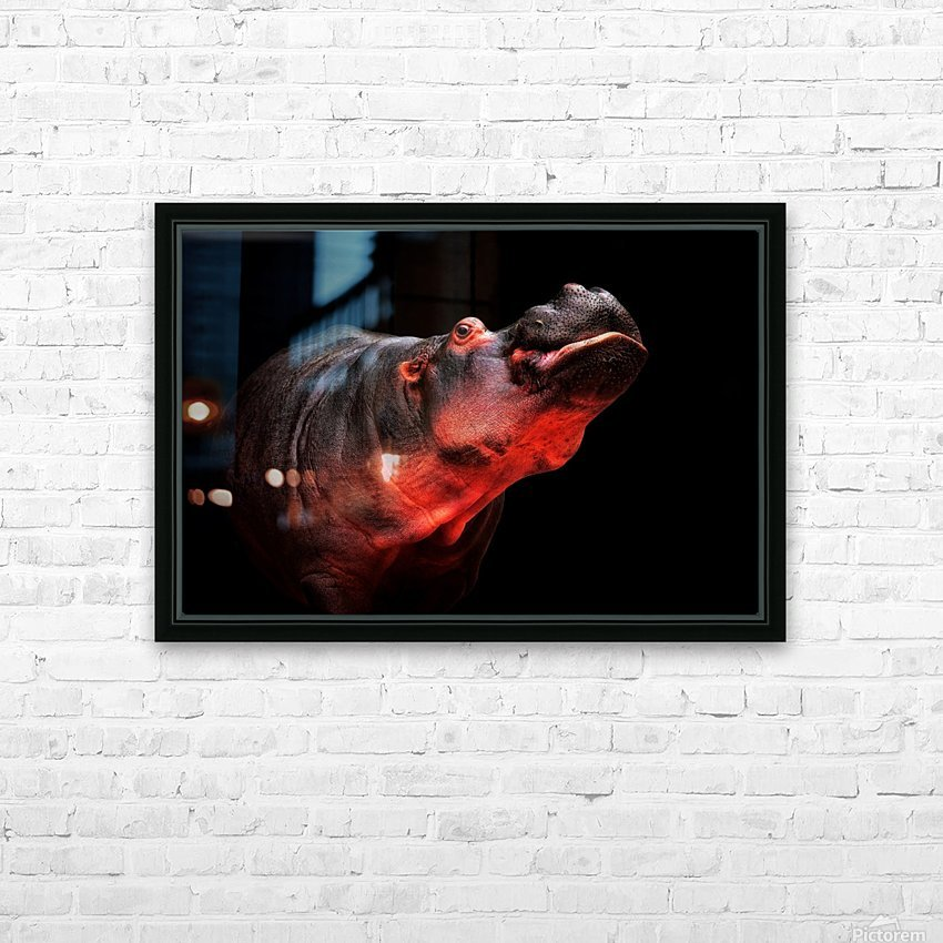 NO! HD Sublimation Metal print with Decorating Float Frame (BOX)