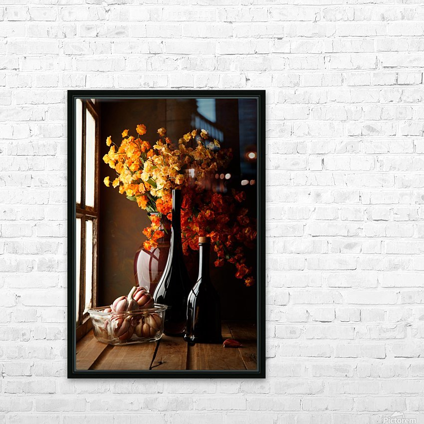 The Garlics HD Sublimation Metal print with Decorating Float Frame (BOX)