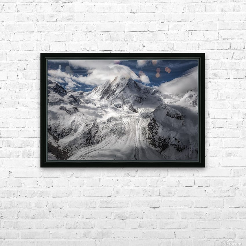 Glacial HD Sublimation Metal print with Decorating Float Frame (BOX)