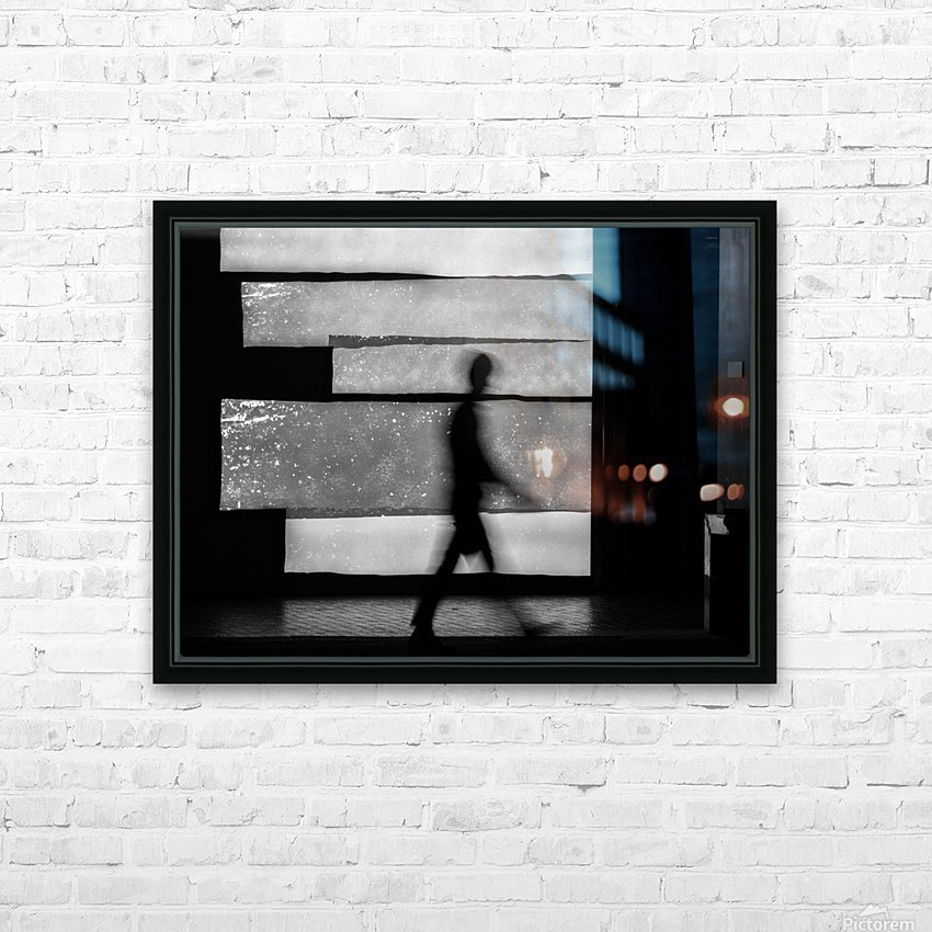 in squares HD Sublimation Metal print with Decorating Float Frame (BOX)