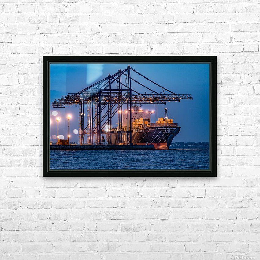 Tetris HD Sublimation Metal print with Decorating Float Frame (BOX)