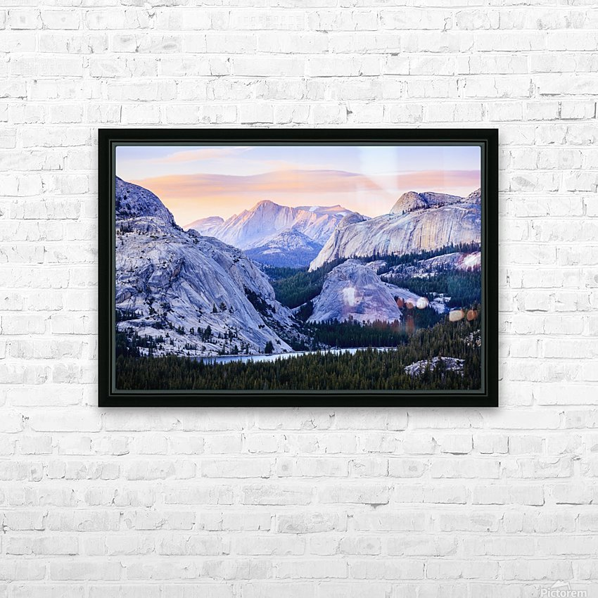 The high country in Yosemite National Park; California, United States of America HD Sublimation Metal print with Decorating Float Frame (BOX)