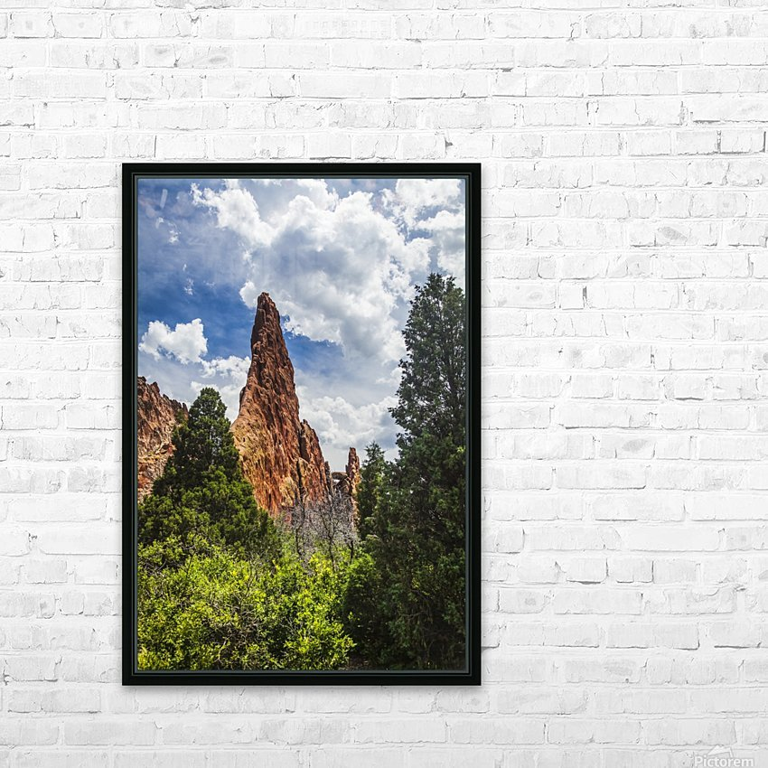 Garden of the Gods; Colorado Springs, Colorado, United States of America HD Sublimation Metal print with Decorating Float Frame (BOX)
