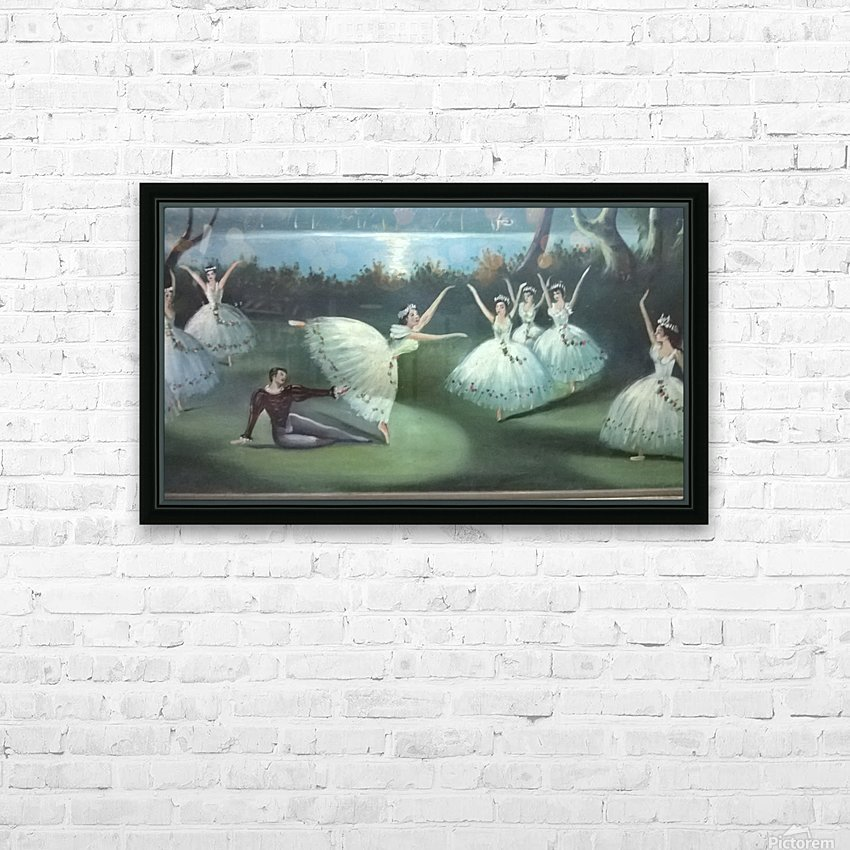 dancing  in moon lights HD Sublimation Metal print with Decorating Float Frame (BOX)