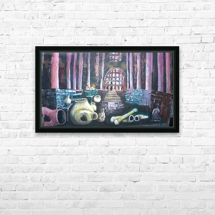 Life  under HD Sublimation Metal print with Decorating Float Frame (BOX)