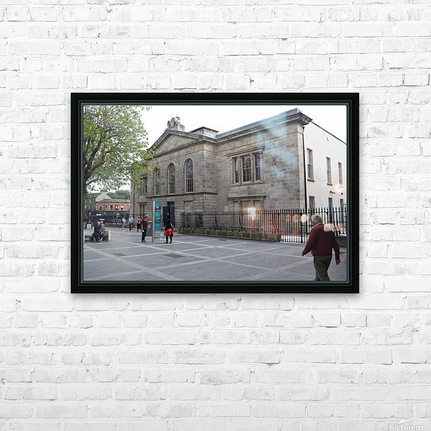 KILMAINHAM JAIL, DUBLIN HD Sublimation Metal print with Decorating Float Frame (BOX)
