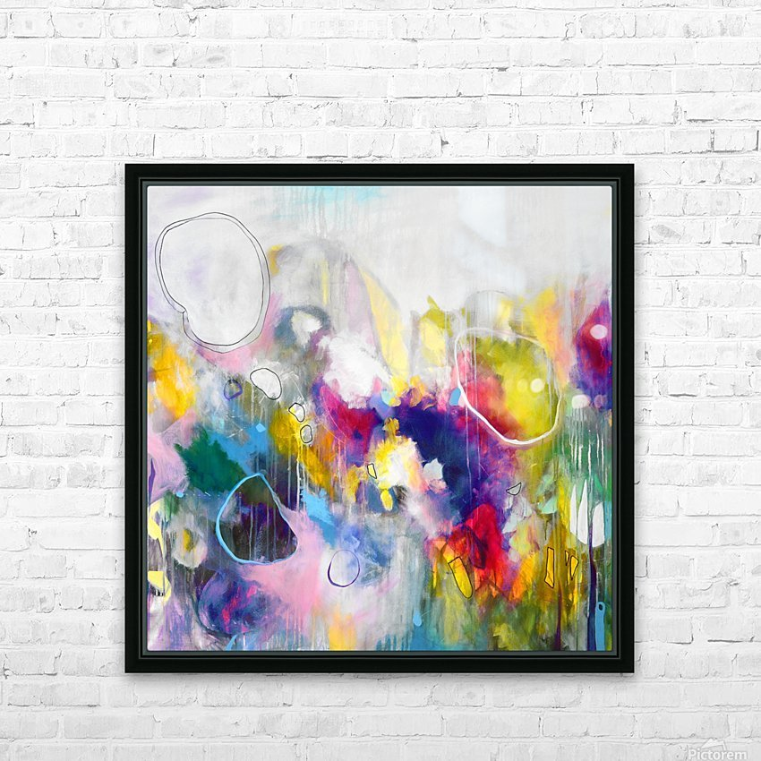 Balloons  II HD Sublimation Metal print with Decorating Float Frame (BOX)