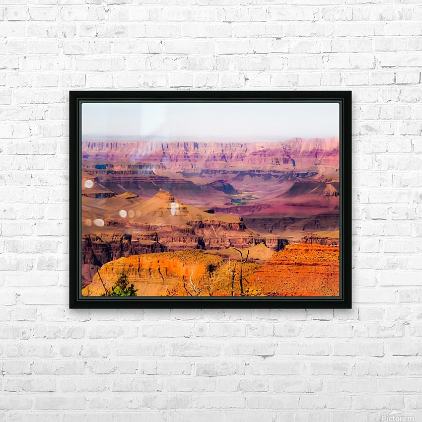 desert view at Grand Canyon national park, USA HD Sublimation Metal print with Decorating Float Frame (BOX)