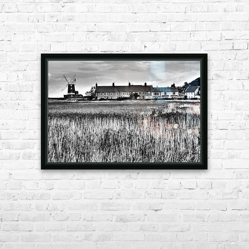 Wind houses HD Sublimation Metal print with Decorating Float Frame (BOX)