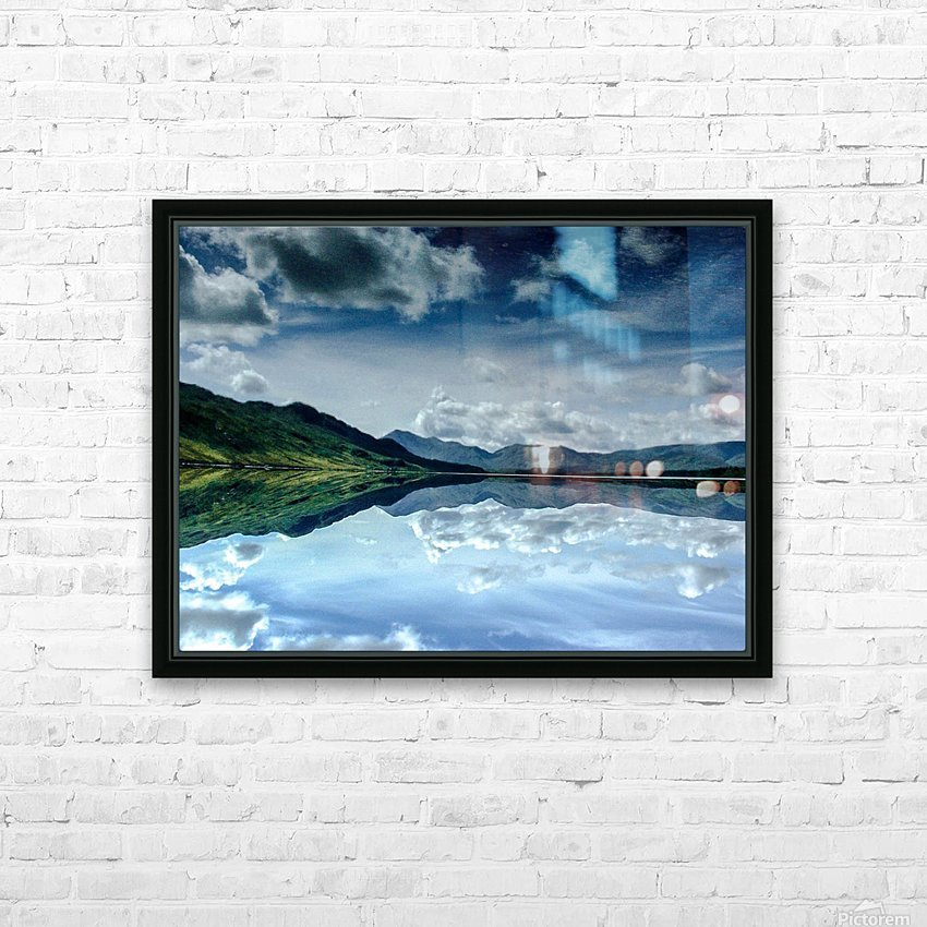 Ireland HD Sublimation Metal print with Decorating Float Frame (BOX)