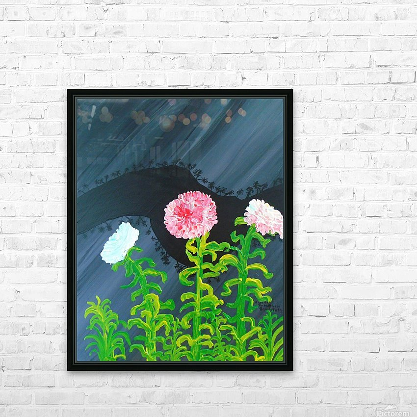 44_44__1 3__garden R HD Sublimation Metal print with Decorating Float Frame (BOX)