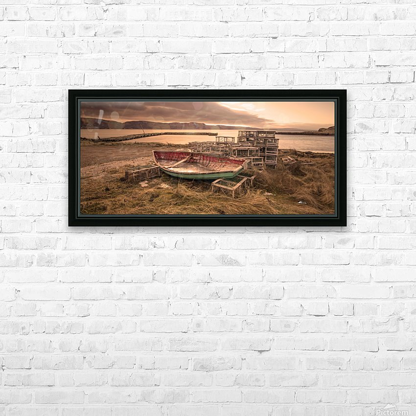 La Pointe- warm HD Sublimation Metal print with Decorating Float Frame (BOX)