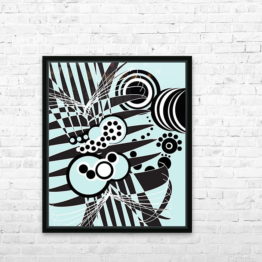 Emotions of an Artist HD Sublimation Metal print with Decorating Float Frame (BOX)
